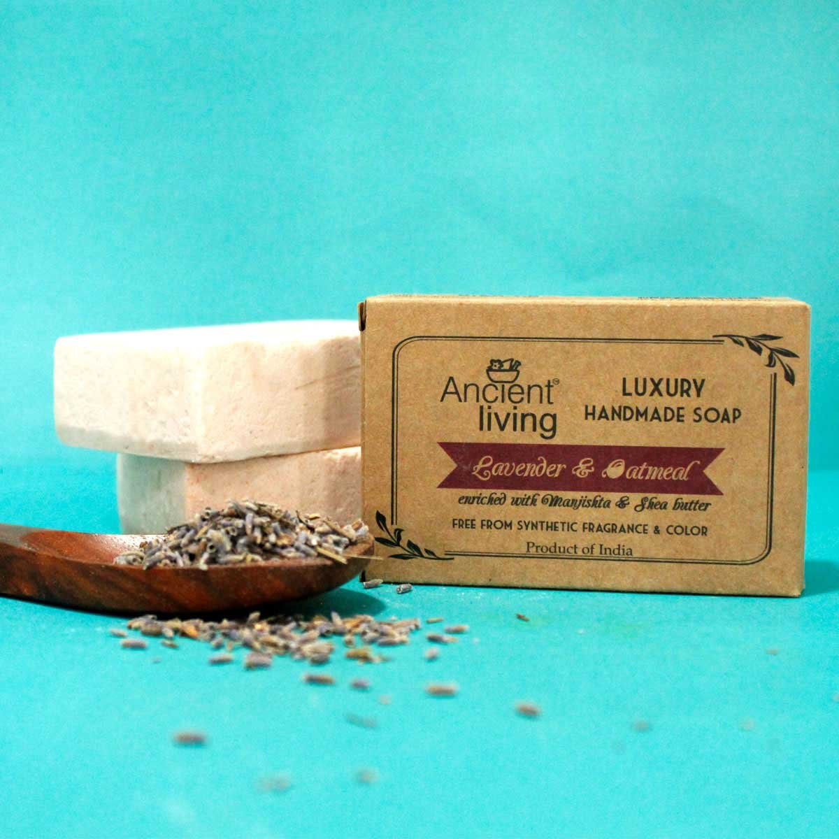 Lavender & Oatmeal Handmade Soap