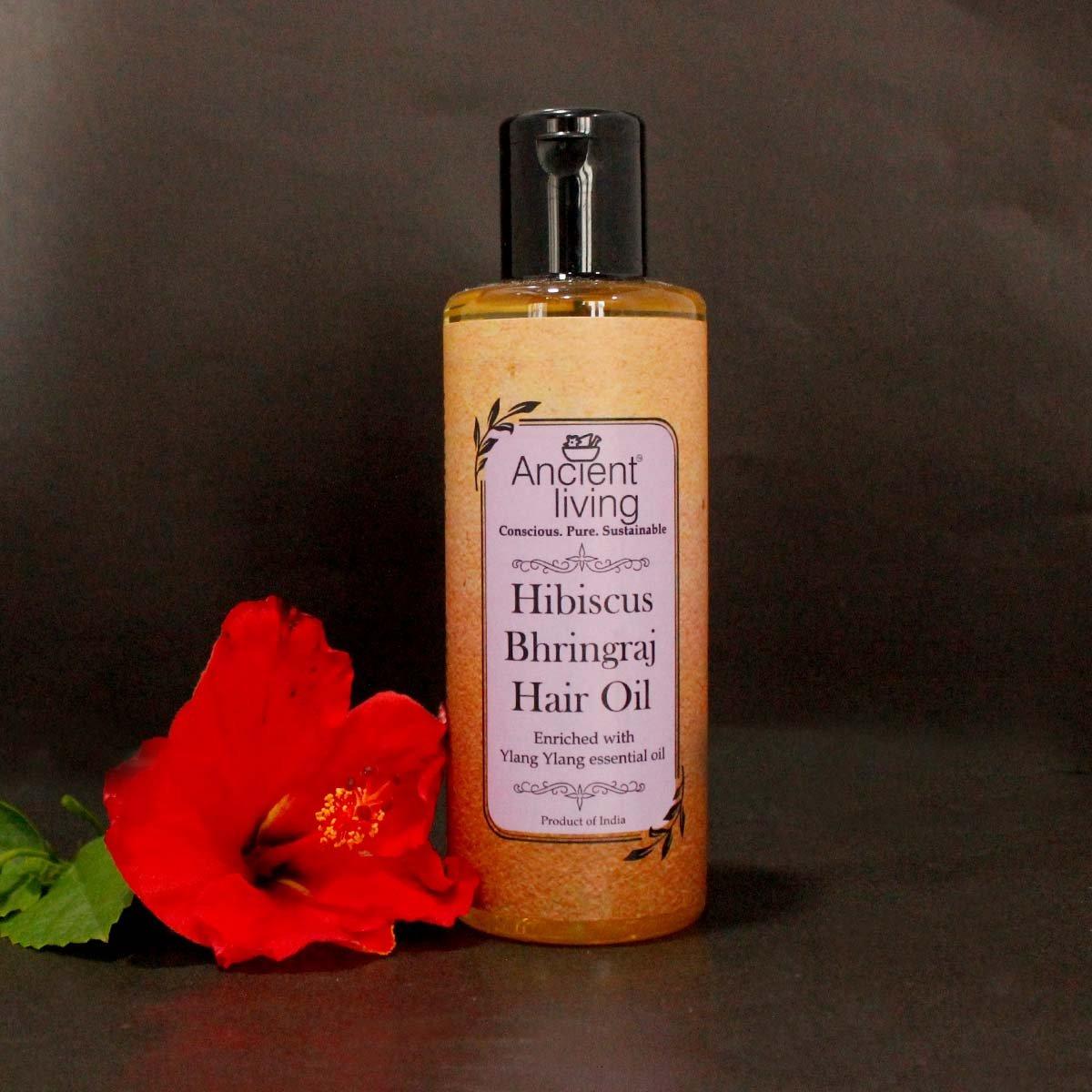 Hibiscus & Bhringraj Hair Oil