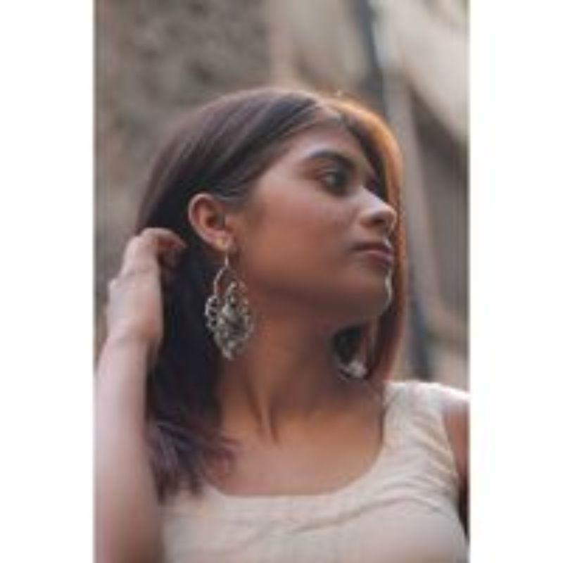 Handmade Banjaran Silver Earrings