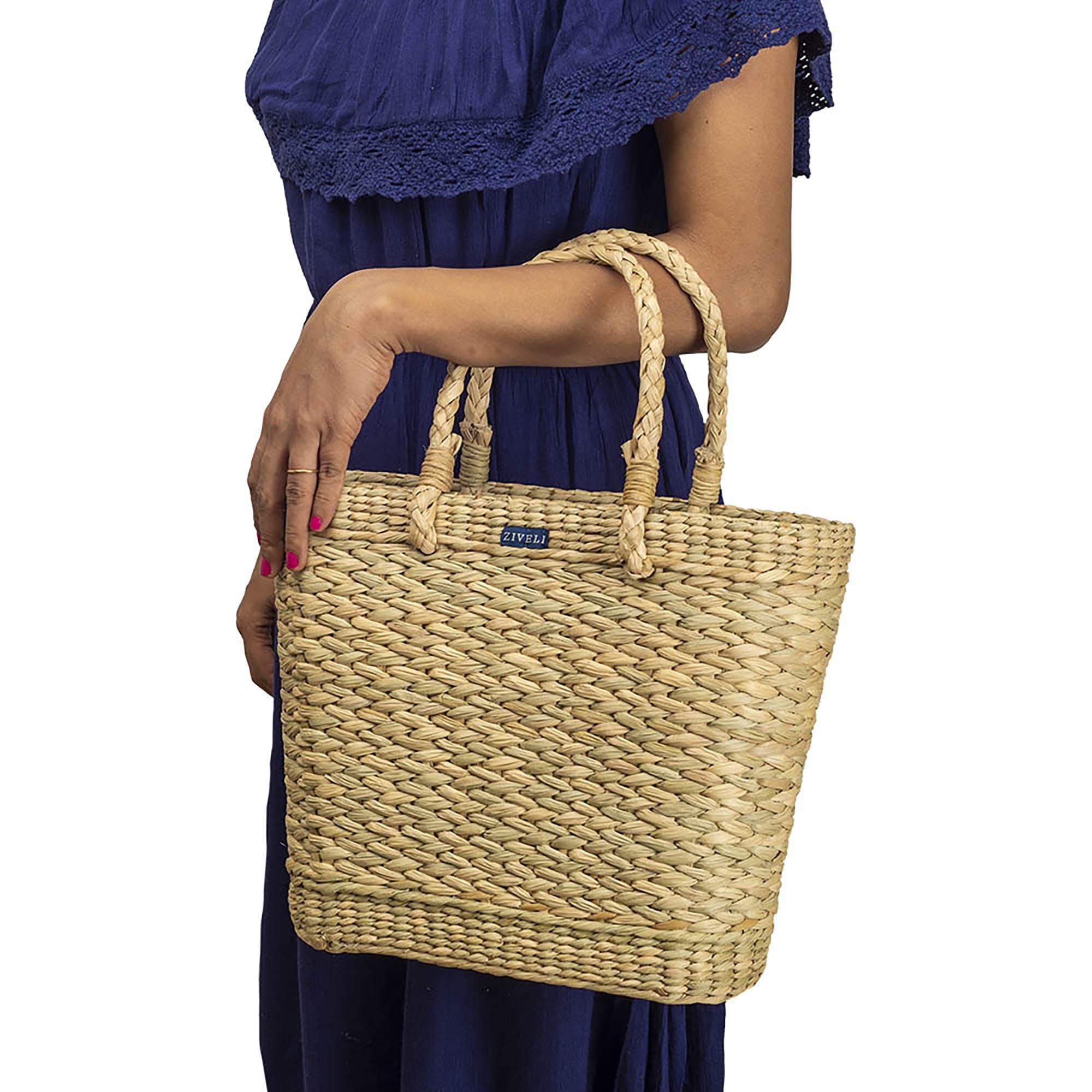 Kauna Reed Small Market Bag