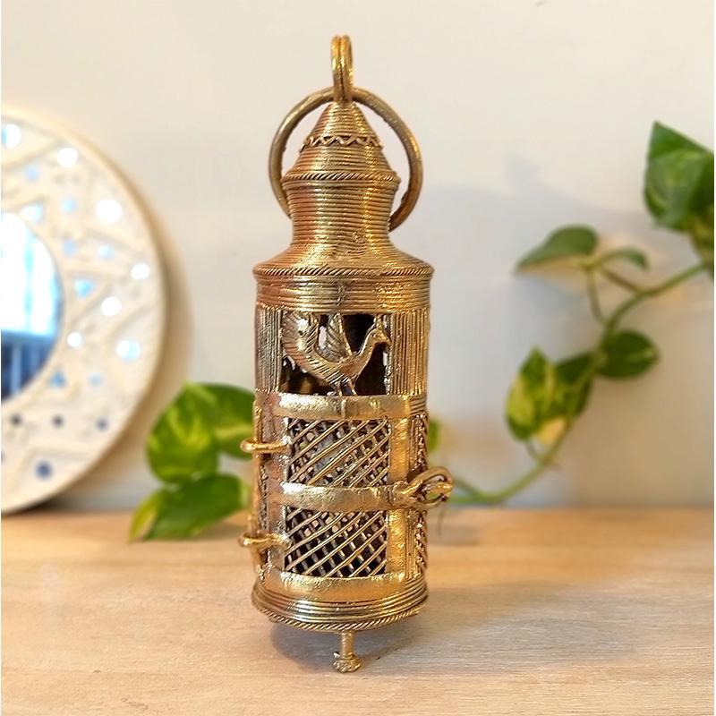 Handcrafted Dokra Round Lantern