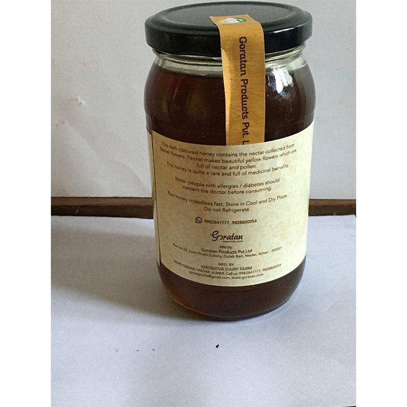 Raw Natural Fennel Honey
