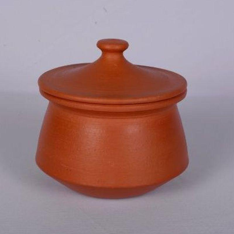 Terracotta Curd Setting Pot with Lid