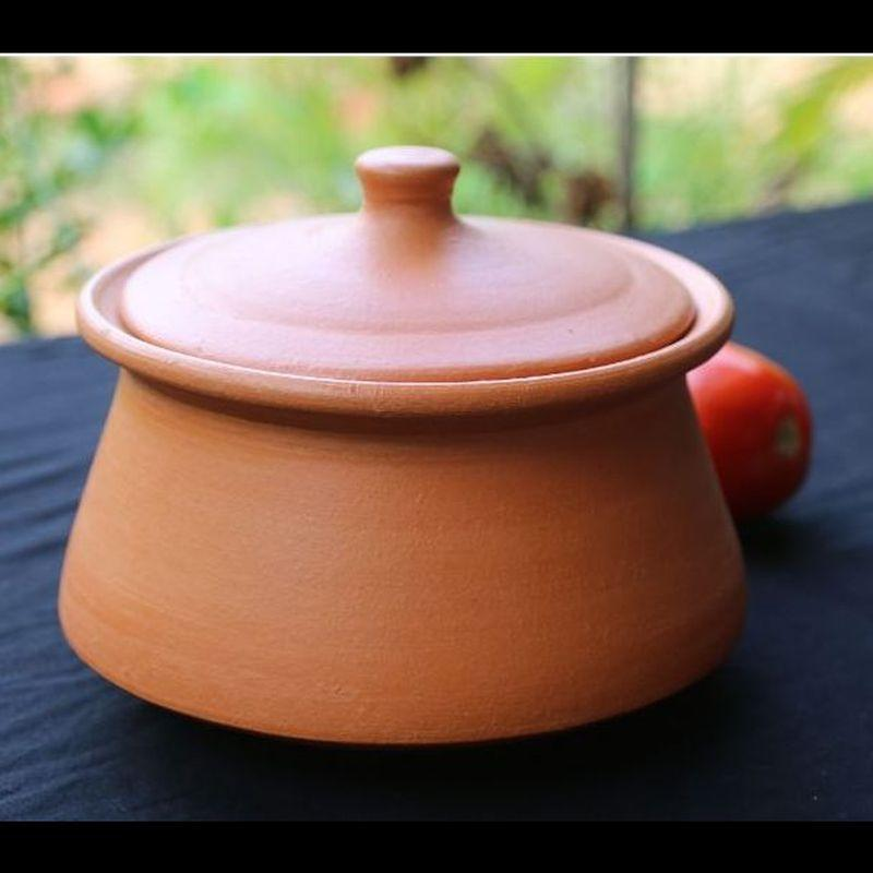 Terracotta Curd Setting & Curry Pot