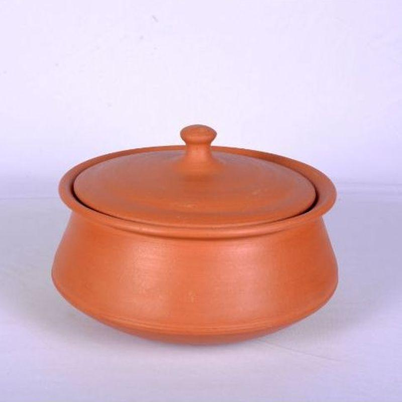Terracotta Clay Curry Pot