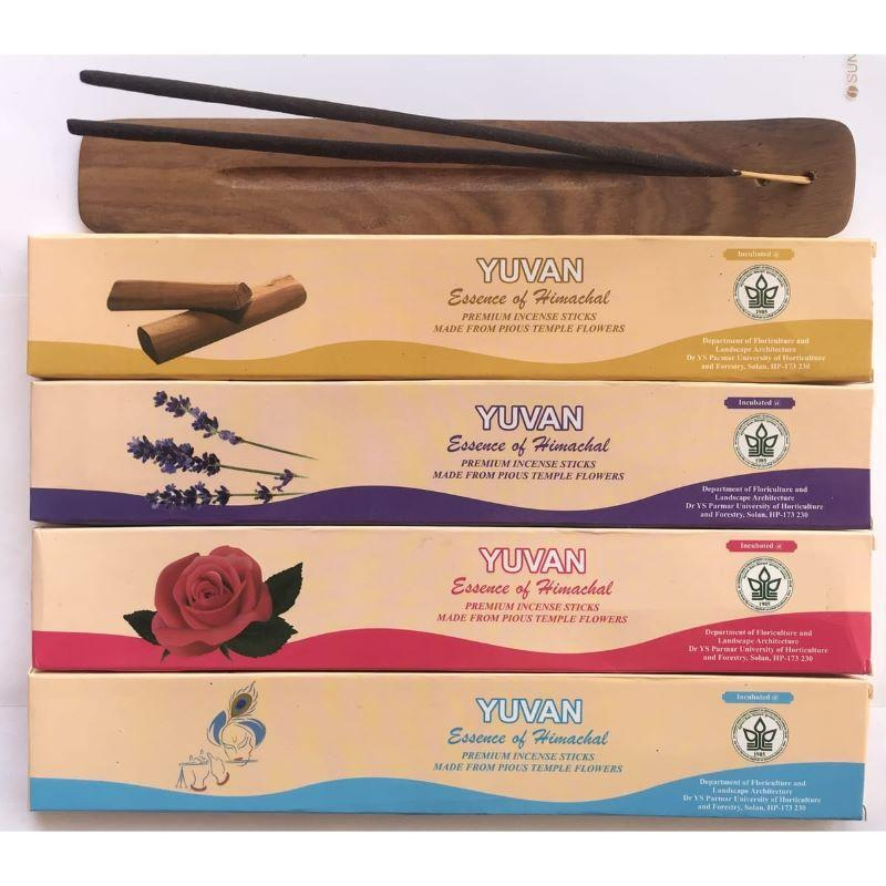 Upcycled Flowers Hand-Rolled Incense Sticks