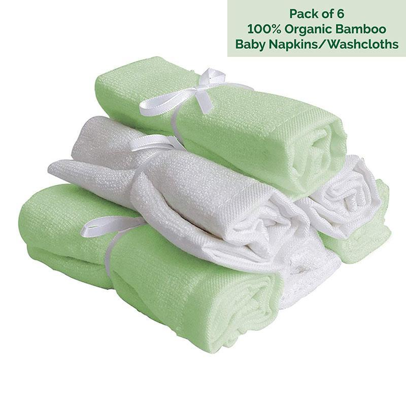 Soft Bamboo Baby Hand & Face Towels
