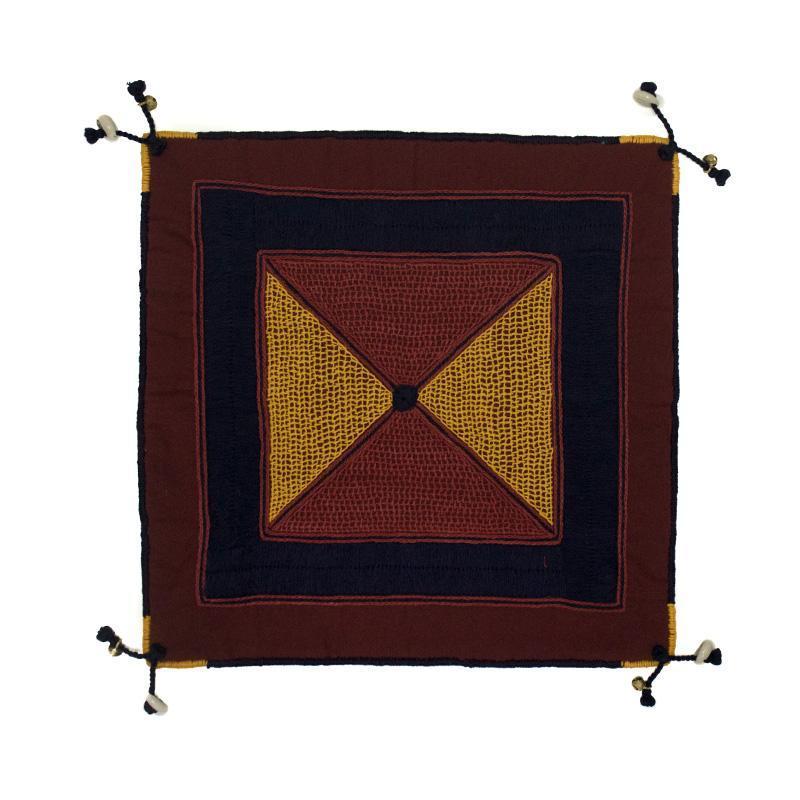Cushion Cover with Lambani Hand Embroidery