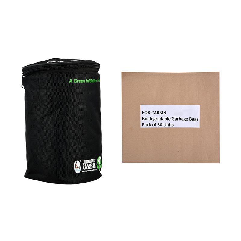 Reusable Cylindrical Cloth Car Bin