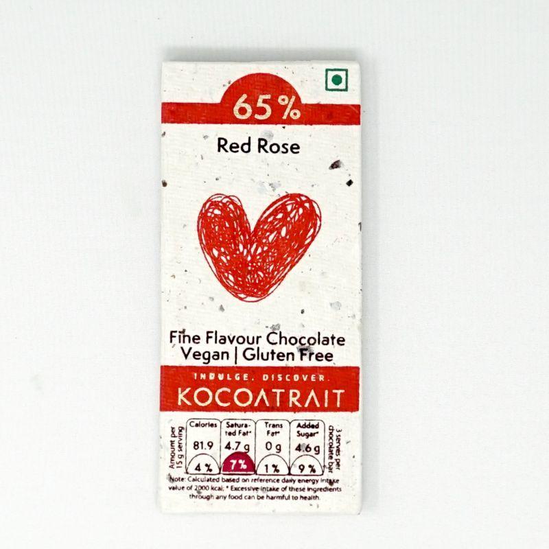 Red Rose Dark Chocolate