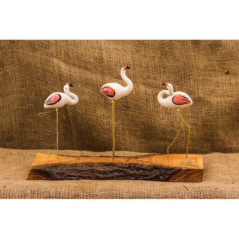 Flamingo Mount Decor Accent