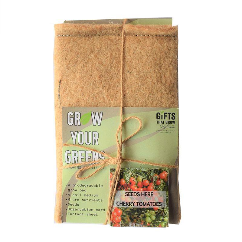 Grow Your Greens Cherry Tomato Kit