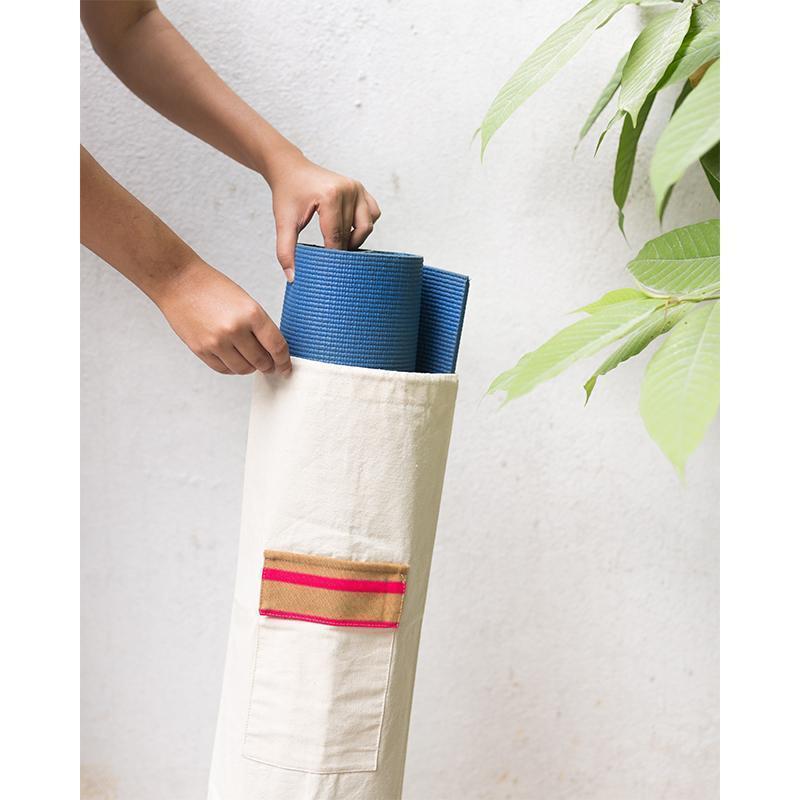 Natural Yoga Mat Bag