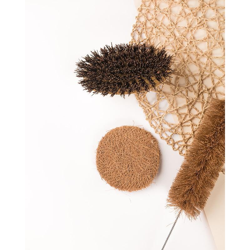 Natural Coir Utensil Scrub