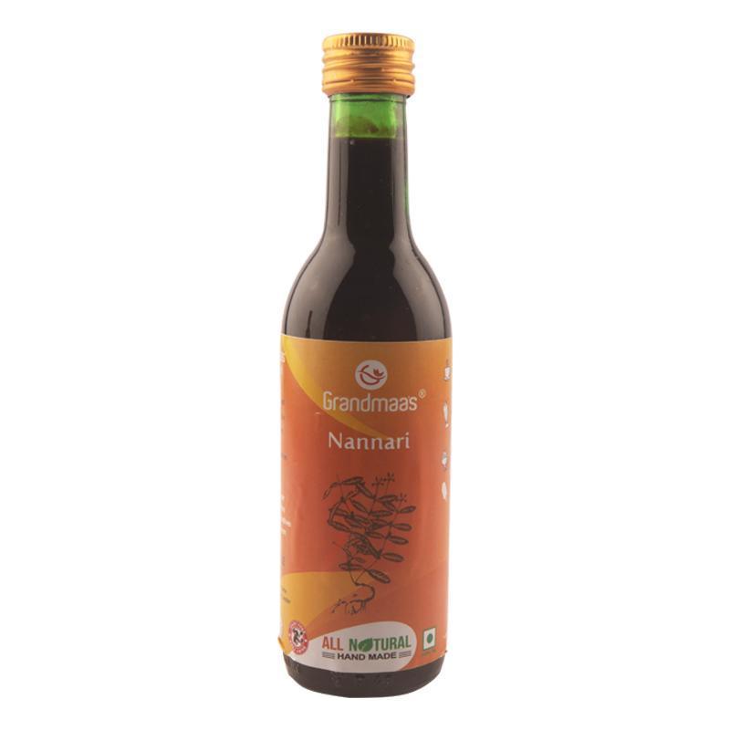 Natural Nannari Syrup