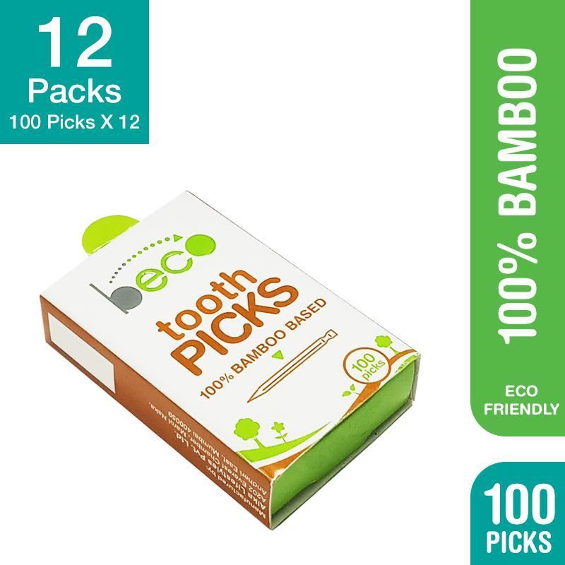 Eco-Friendly Bamboo Toothpicks