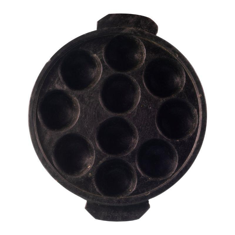 Seasoned Soapstone Paddu Pan