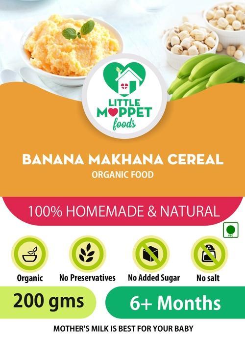 Banana Makhana Cereal