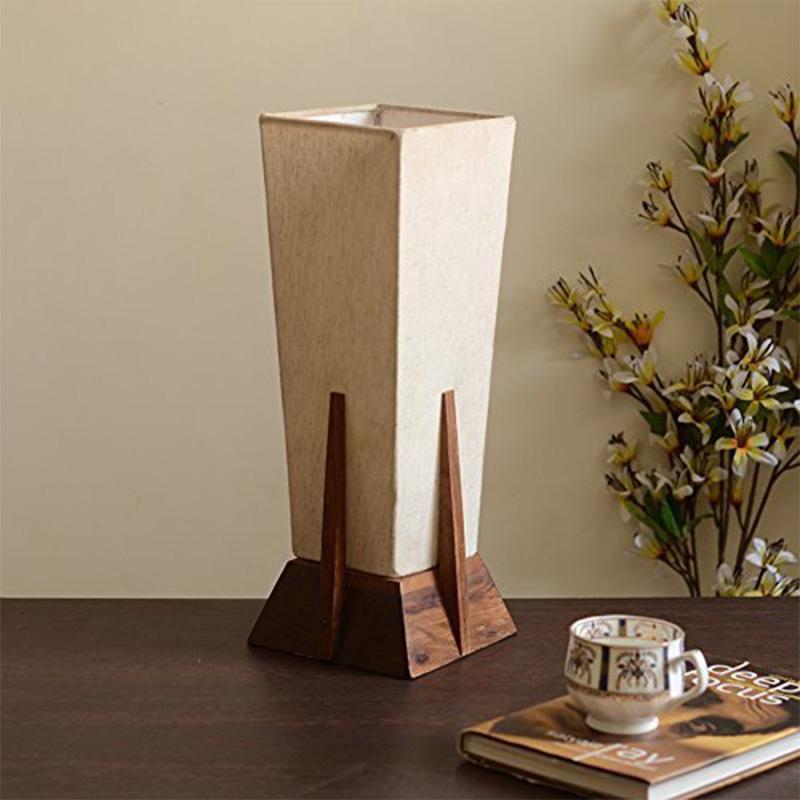 Table Lamp in Sheesham Wood