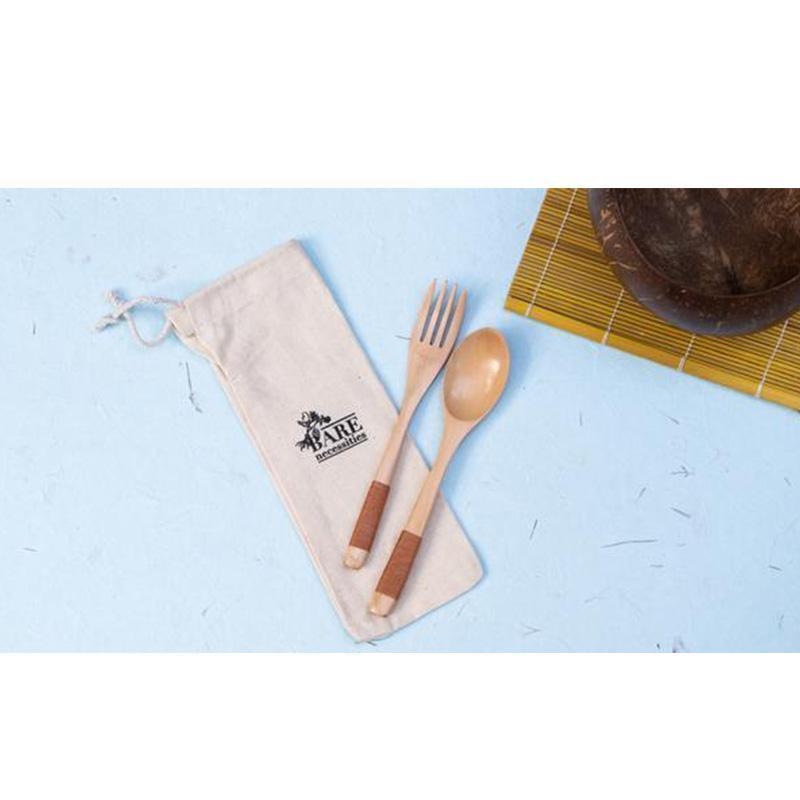 Reusable & Compostable Travel Cutlery Set