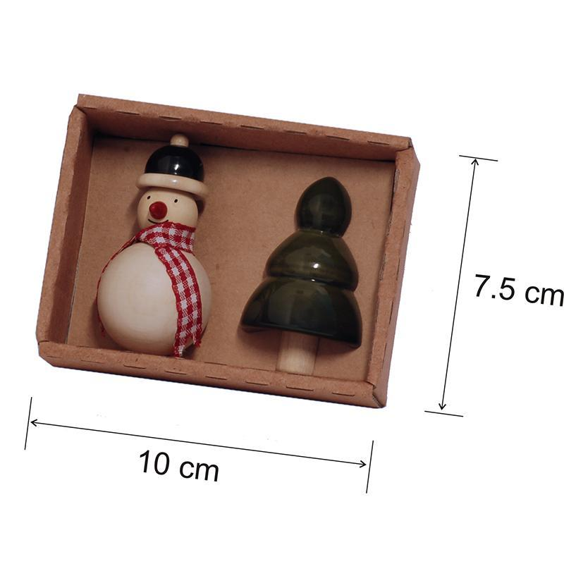 Hand-Crafted Wooden Fridge Magnets