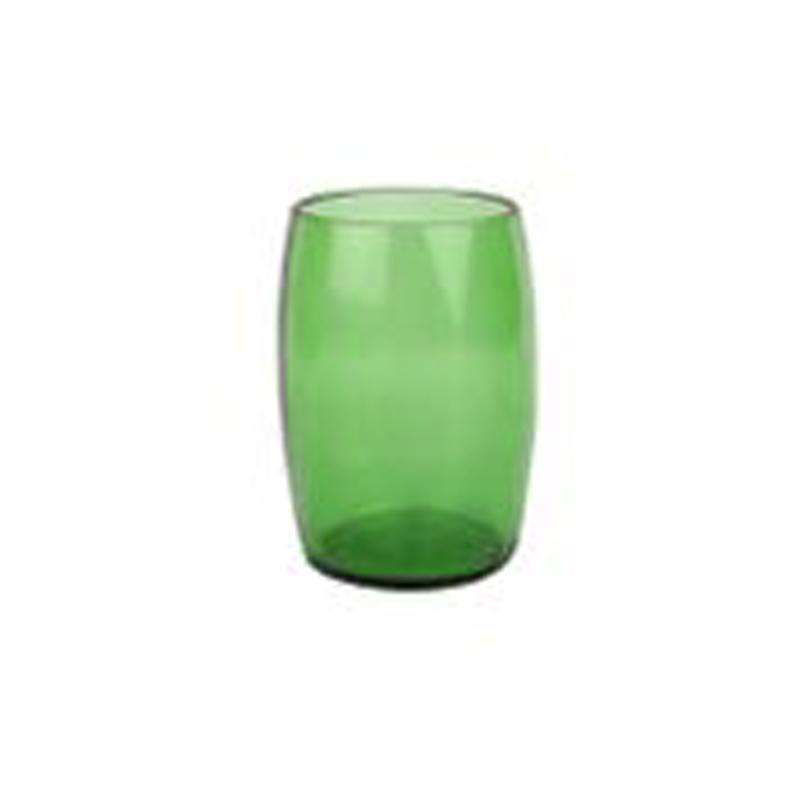 Upcycled Wine Bottles Green Glass