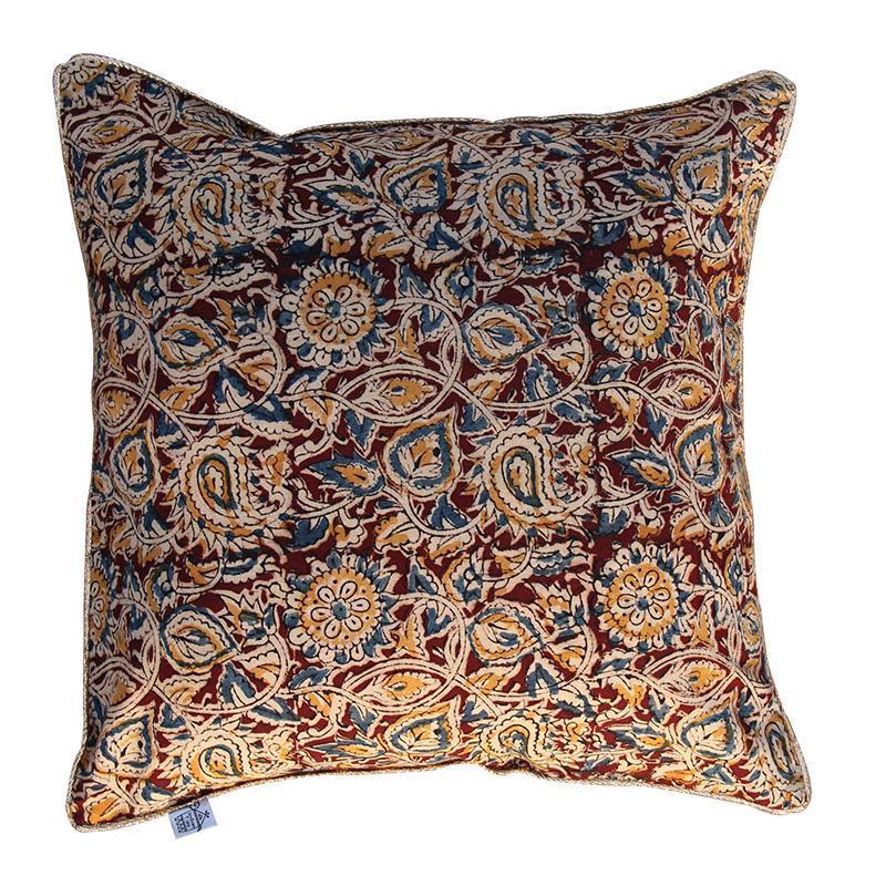 Kalamkari Cushion Cover