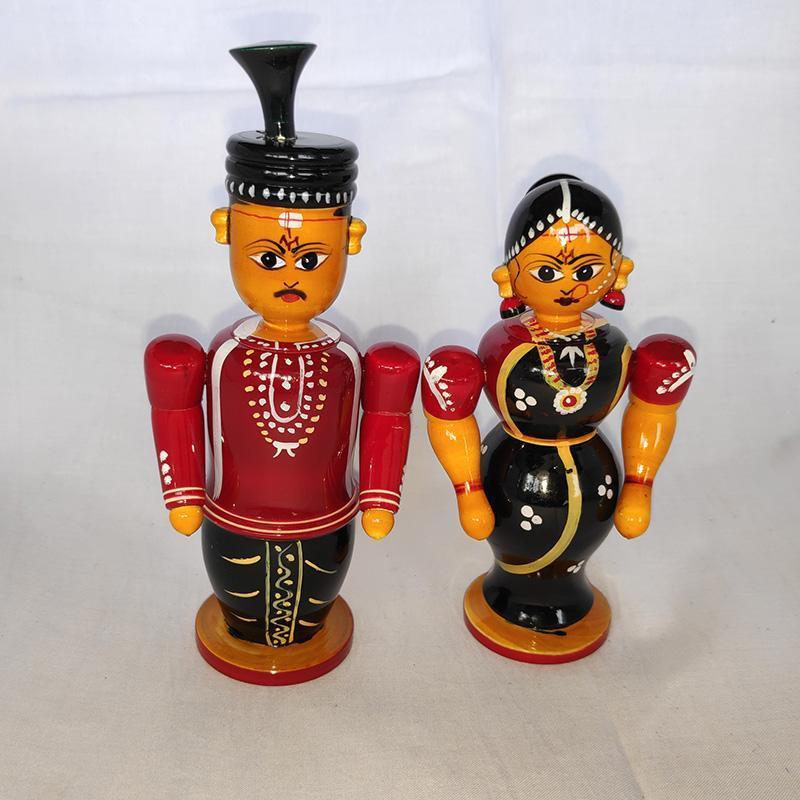 Etikoppaka Buttabomma Marriage Couple