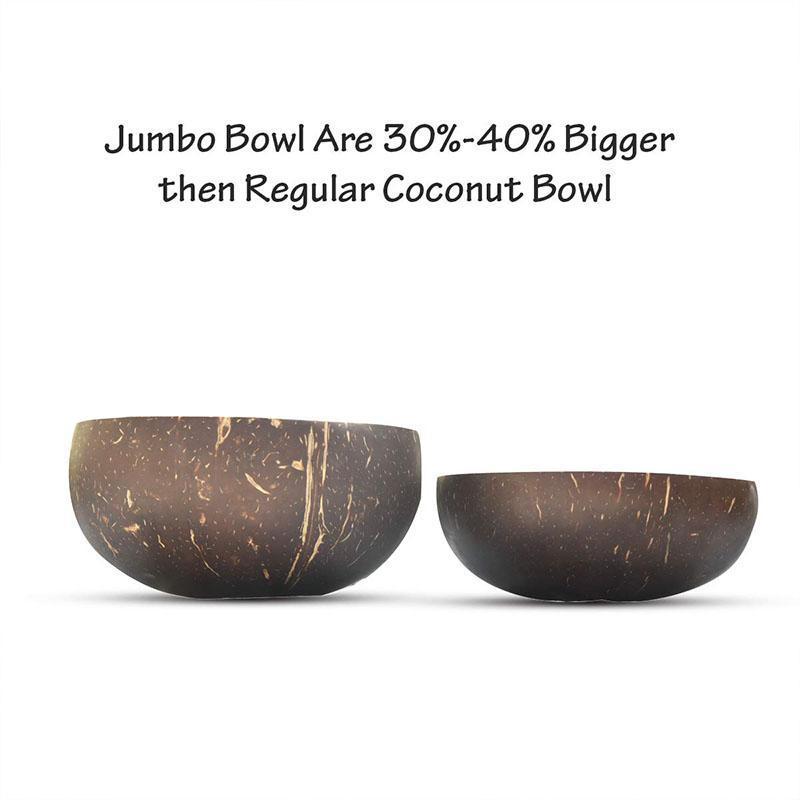 Jumbo Classic Coconut Shell Combo