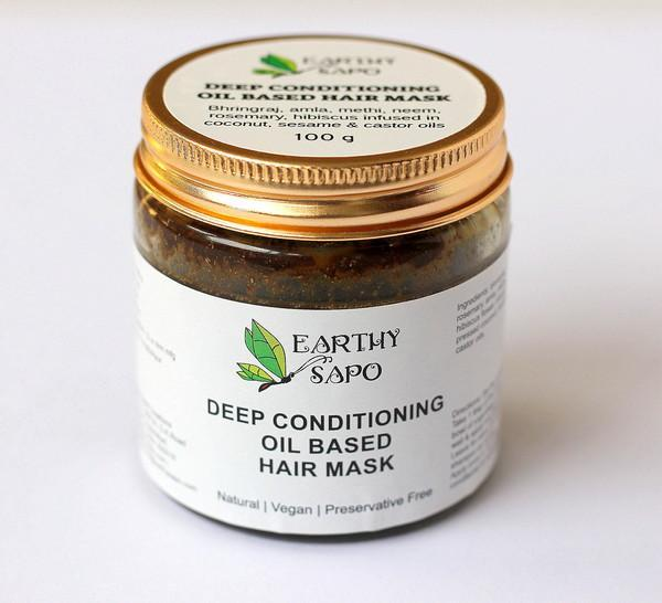 Deep Conditioning Oil Based Hair Mask