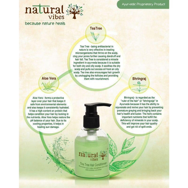 Ayurvedic Tea Tree Hair Conditioner
