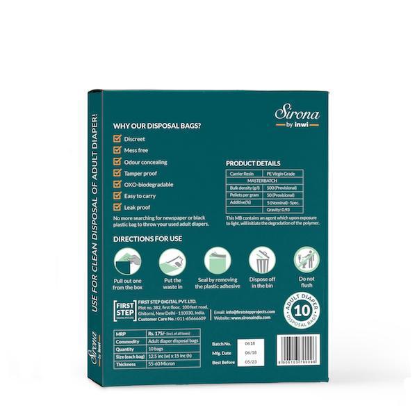 Adult Diaper Disposal Bags