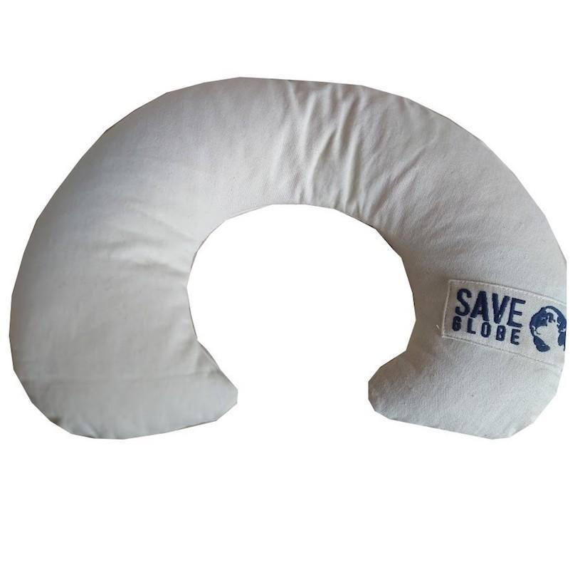 Neck Pillow with Rice Husk Filling