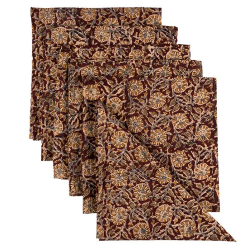Brown Dinner Napkins