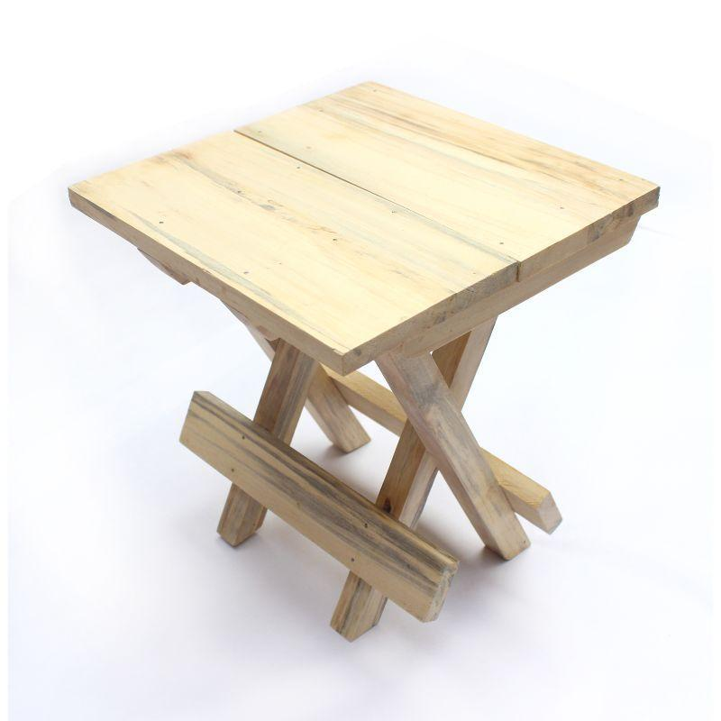 Wooden Portable Folding Table