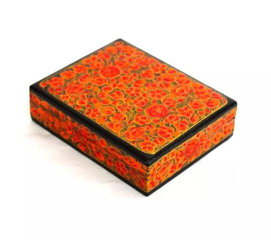 Decorative Medium Kashmiri Trinket Box