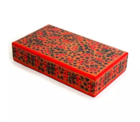 Decorative Large Kashmiri Trinket Box