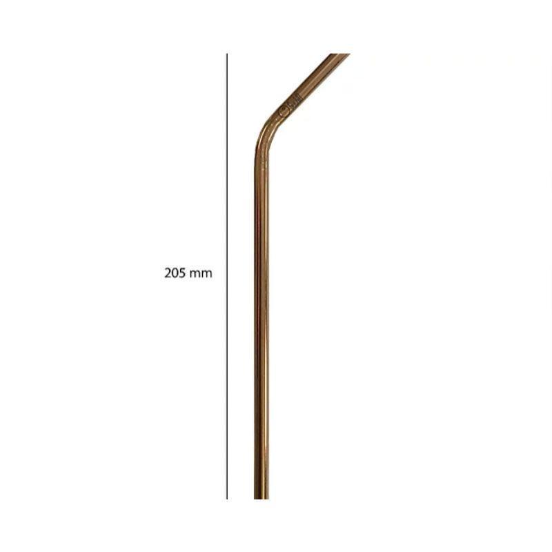 Bent Regular Steel Straws
