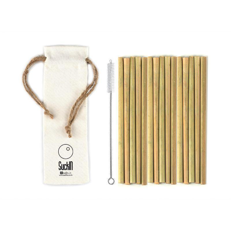 Reusable Bamboo Straws