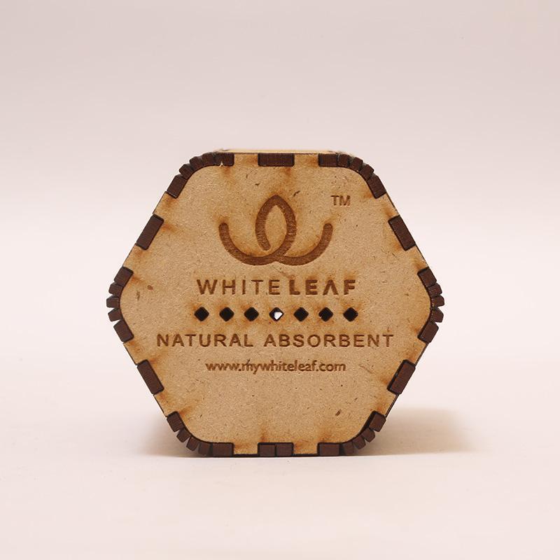 Natural Beige Hexagonal Car Freshner