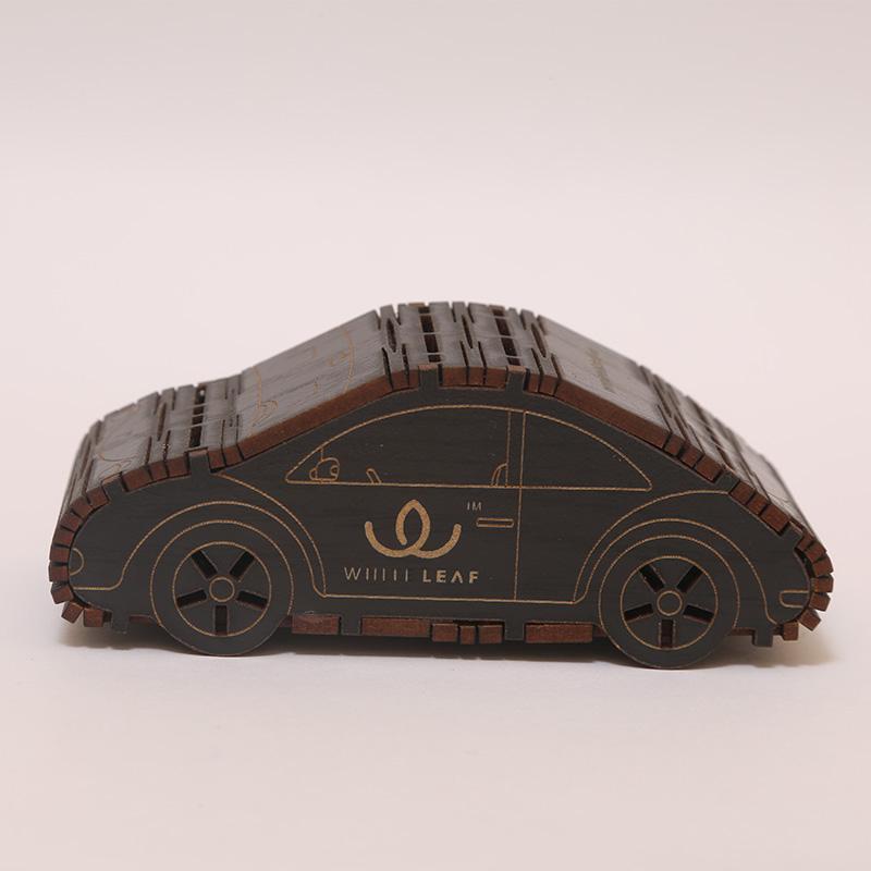 Natural Black Car Shaped Car Freshner