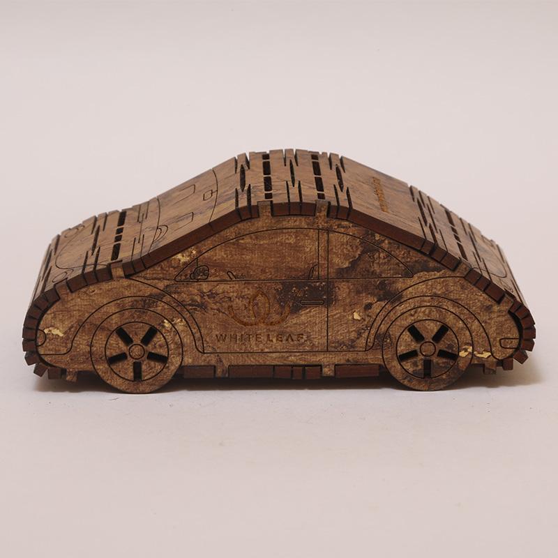 Natural Wooden Car Shaped Car Freshner