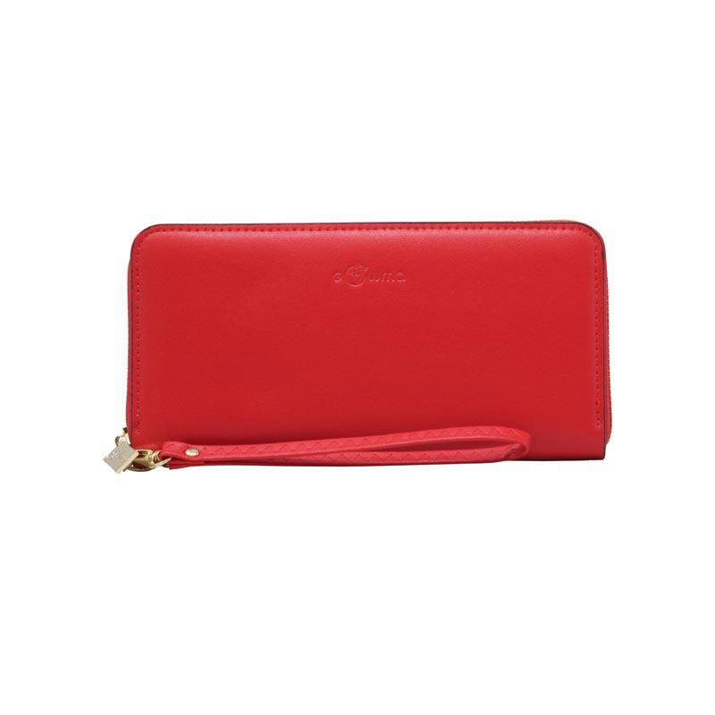 Vegan Red Clutch
