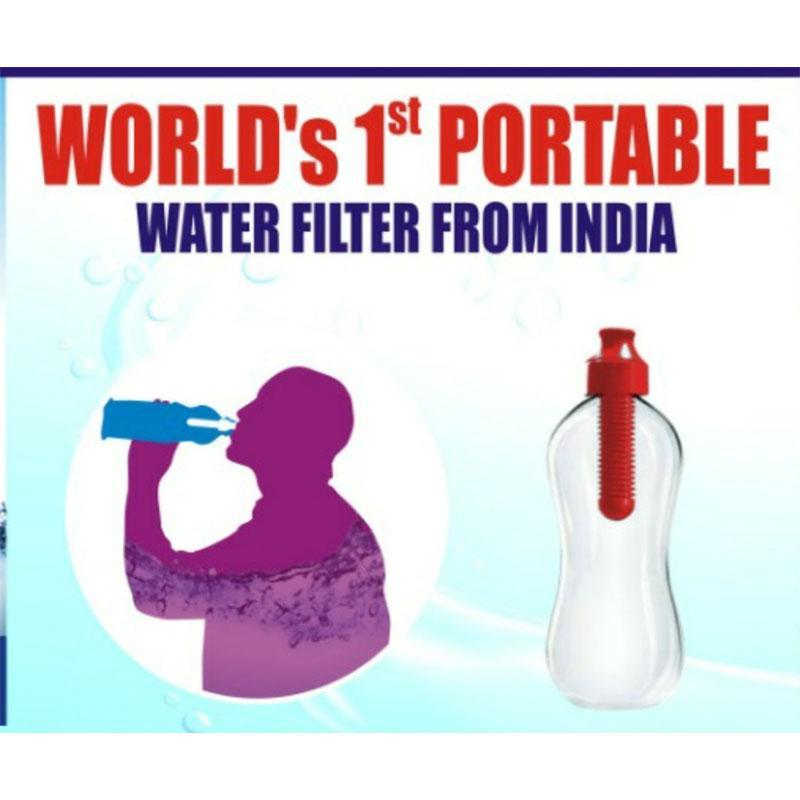 Portable Water Filter for Bottles