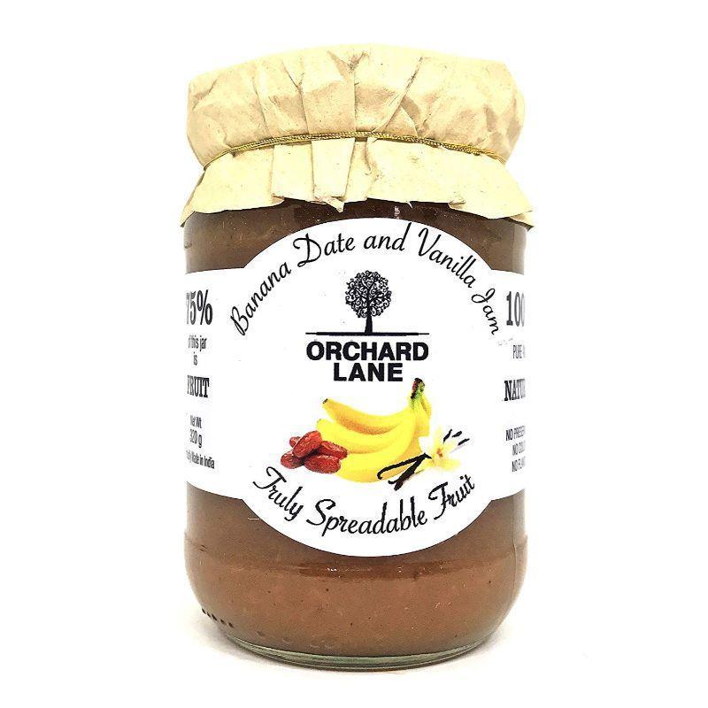 Banana Date & Vanilla Jam
