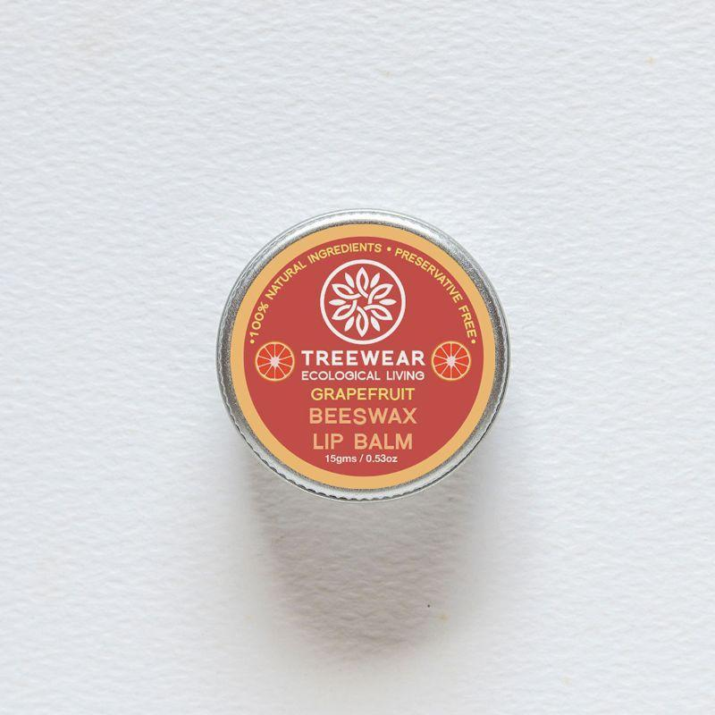 Grapefruit Beeswax Lip Balm