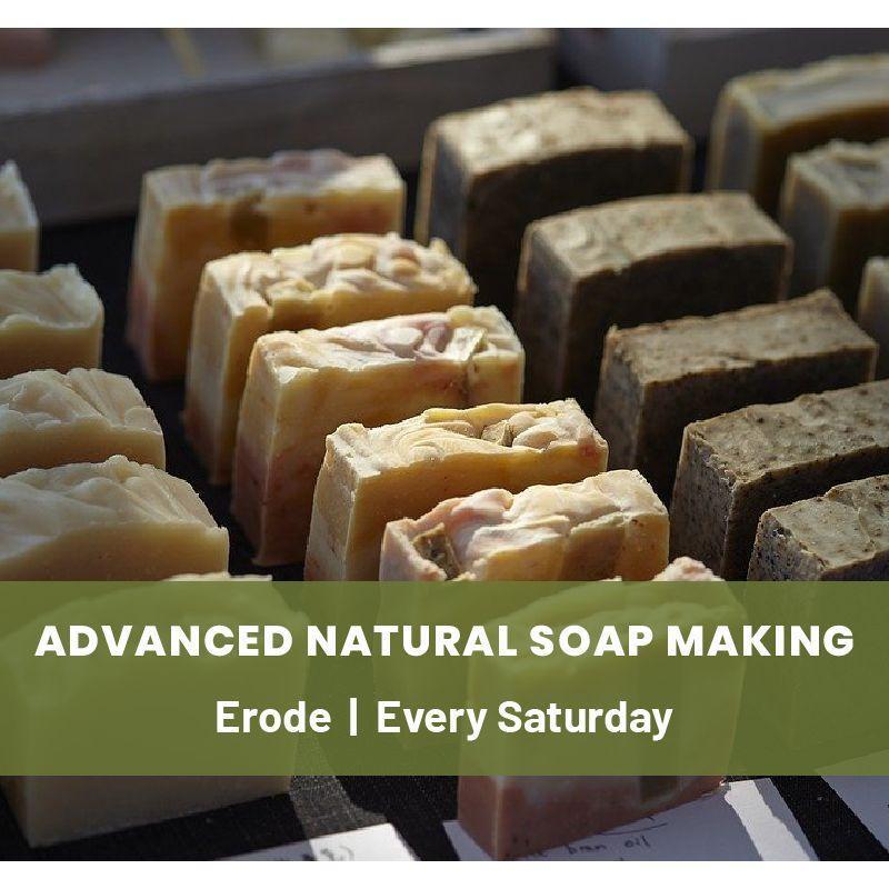 Advanced Natural Soap Making Workshop