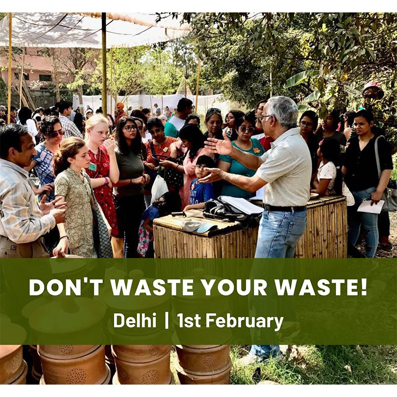 Don't Waste Your Waste! : A Composting Workshop