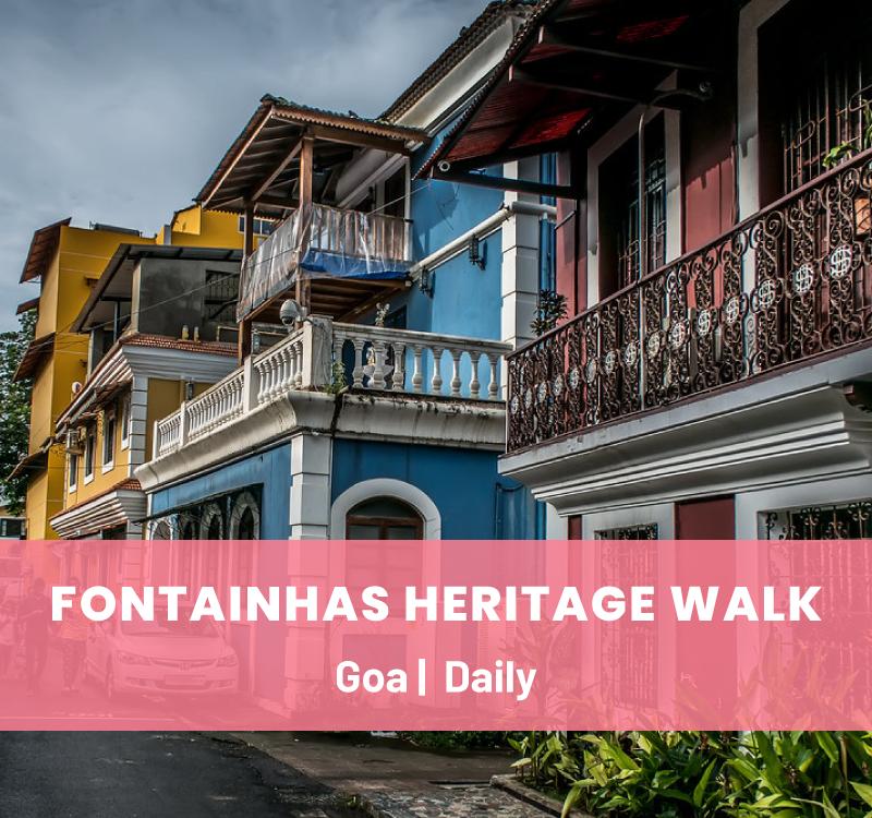 Fontainhas Heritage Walk