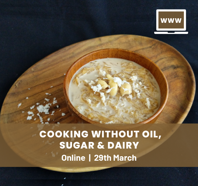 Healthy Cooking Online Workshop